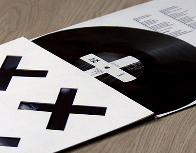 The XX - Creation of a vinyl sleeve