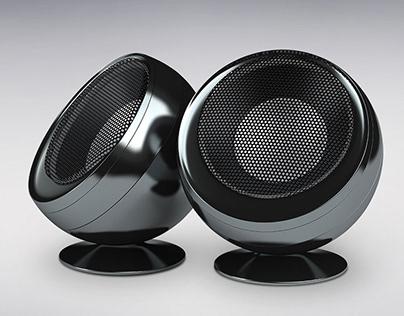 3d modelling of True Wireless Speakers