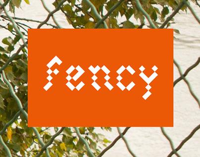 fency font