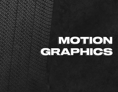 Motion Graphics - After Effects