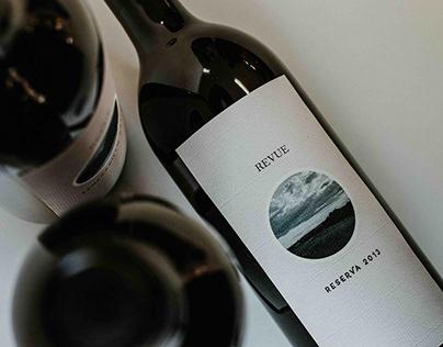 REVUE diseño de packaging para vino