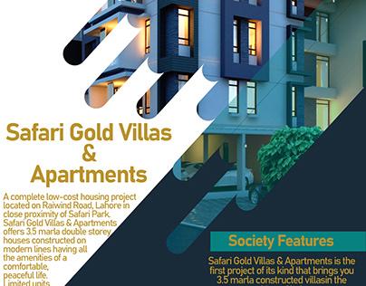 Safari Gold Villas & Apartments Flyer