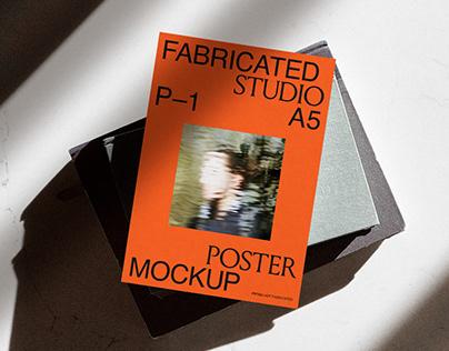 A5 Poster Mockup