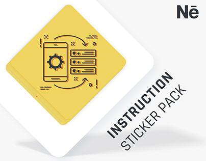INSTRUCTION Animation Sticker Pack