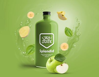 Joy Juice    Logo & Packaging
