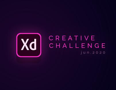Creative Challenge | Adobe XD