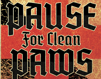 Pause for Clean Paws