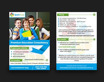 Educational Institute Flyer Design