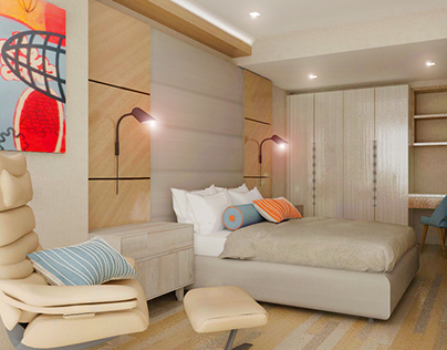 Proposed Design for a 1-Bedroom Unit at Amaia Skies