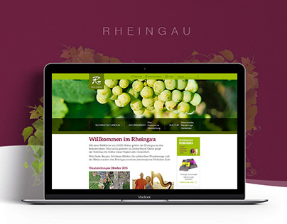 Rheingau Website Relaunch