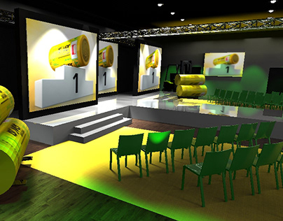 Scenografia eventowa - wizualizacje 3D