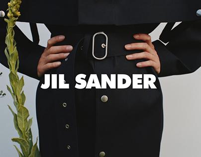 JIL SANDER E-commerce redesign