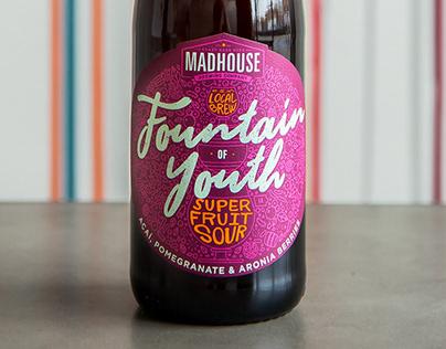 Seasonal Sour Beer Label Design & Illustration