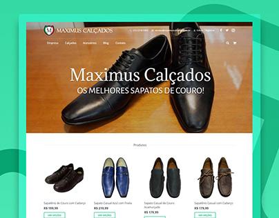 Loja Virtual - Sapatos Masculinos