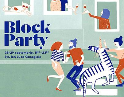 BLOCK PARTY KV illustration