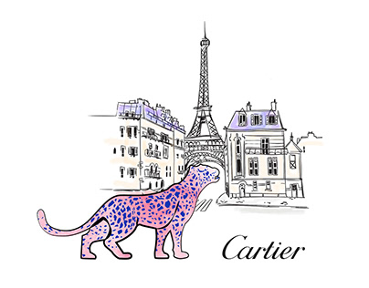 Fondation Cartier | illustration, print, activation
