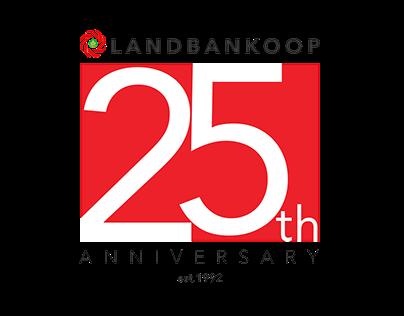 Landbank Koop 25 Years Anniversary Logo