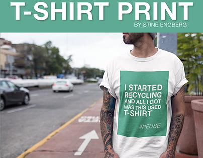 School project - T-shirt print