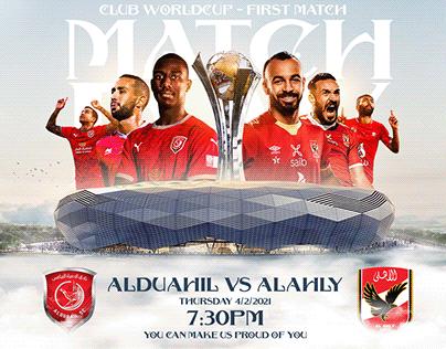 AlDuhail VS AlAhly ( Match Card )