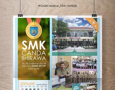 Kalender SMK Canda Bhirawa Pare Kediri [GoldCreative]
