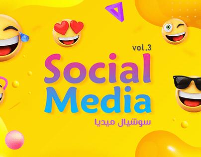 Social Media Designs - Vol.3 2019 سوشيال ميديا