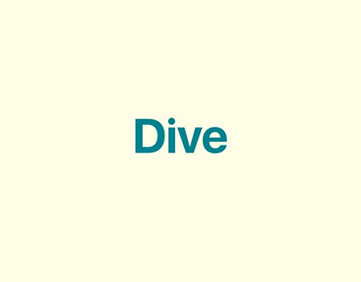 Descriptive Word — Dive
