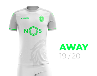 Sporting CP 2019-2020 Fantasy Away Kit