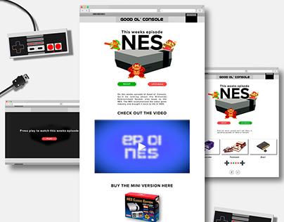 Good Ol' Console // NES