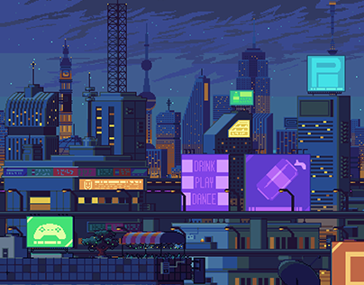Block Party Background