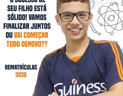 Campanha de rematrícula 2020