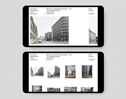 Architektur Photographie Philip Heckhausen Website