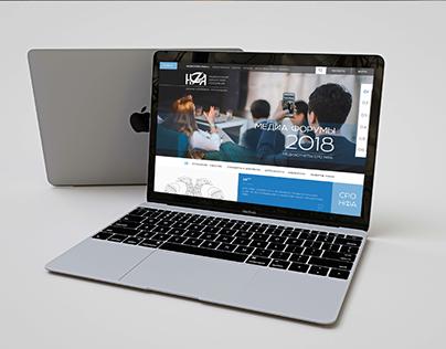 Разработка и дизайн сайта для НФА