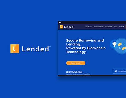 Lended - Peer2Peer Cryptocurrency Lending Platform