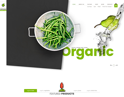 Origano - Organic Store Template