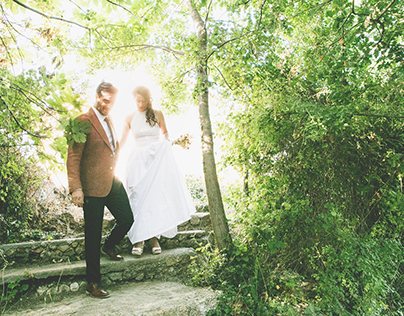 Wedding day in Kernitsa, Peloponnese