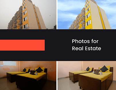 Before and After photos for Real Estate