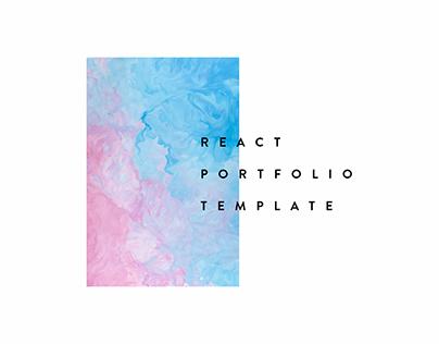 React Portfoio Template V2