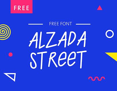 Alzada Street - Free Font