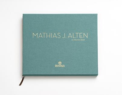 Mathias J. Alten: An Evolving Legacy Book