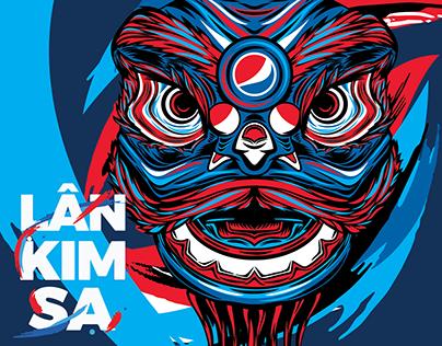 Pepsi Vietnam   PEPSI TẾT 2019   LÂN KIM SA