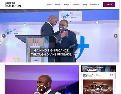 Pastor Website Design