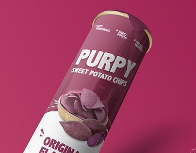 Packaging & Display Design of Purpy