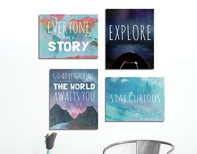 Travel Series Prints