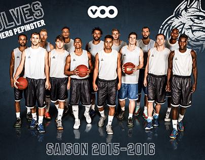 Poster VOO Wolves Verviers-Pepinster