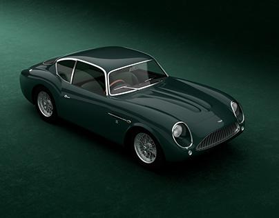 Aston Martin DB4GT Zagato 1960-1963 + Free 3D model