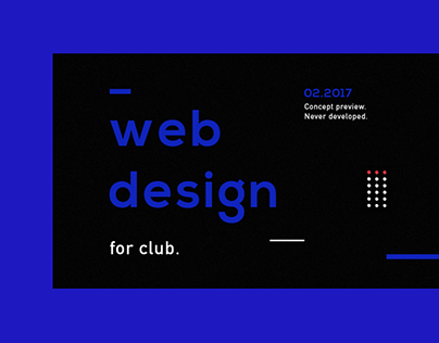 Club web site