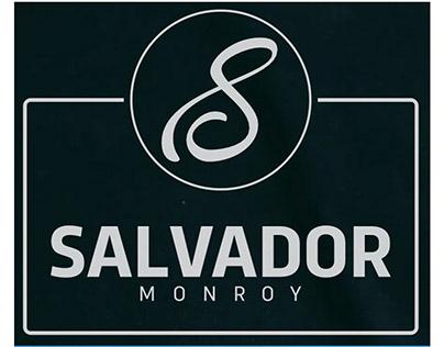 Logotipo Para Salvador Monroy Rodriguez (Obscuro)