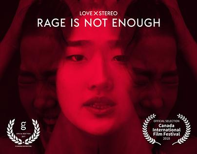 MV - Love X Stereo - Rage Is Not Enough (Danja Mix)