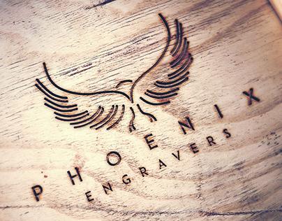 Phoenix Engravers Branding