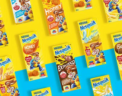 Nesquik | Nutrition Drink Packaging